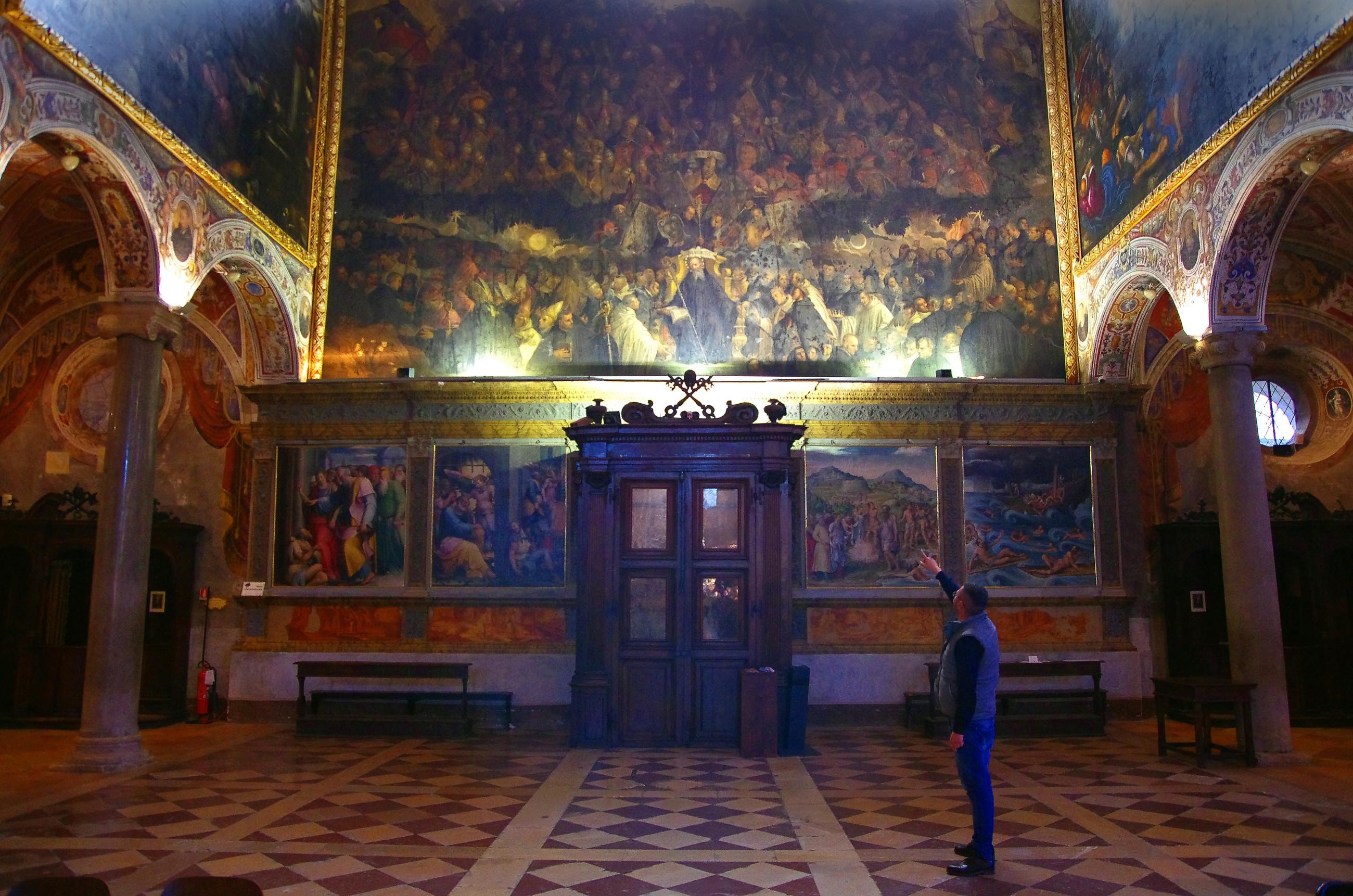 Il trionfo dei Benedettini